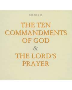 The Ten Commandments of God – The Lord's Prayer (MP3-Download)
