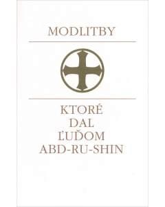 Modlitby, ktoré dal ľuďom Abd-ru-shin